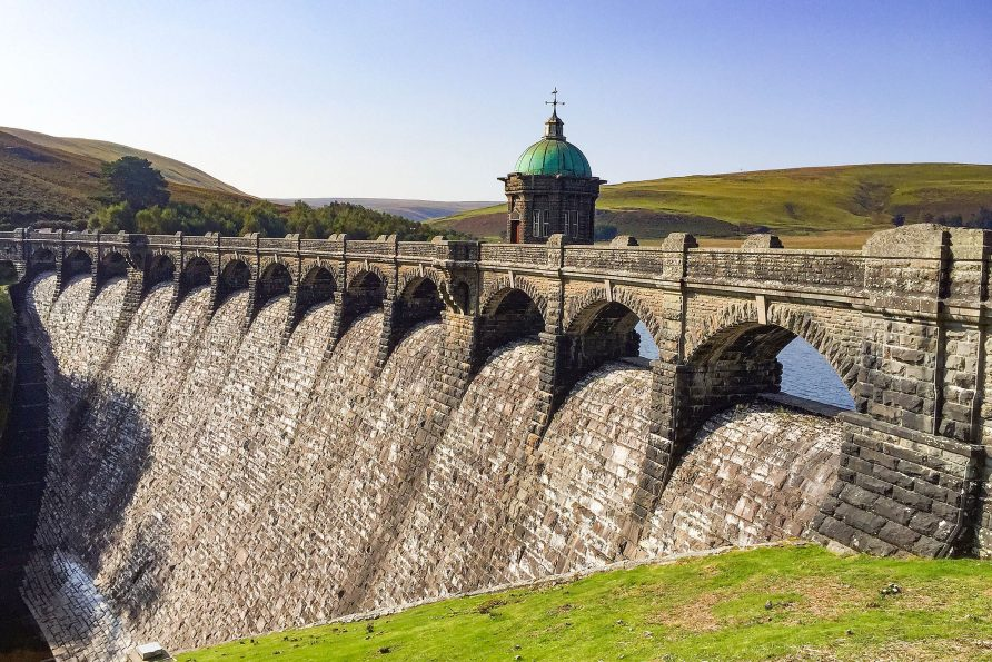 Elan Valley Reservoirs & Dams
