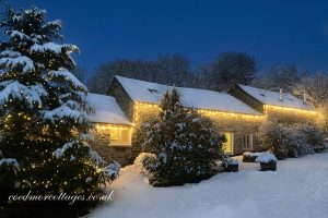 Coedmor Cottages at Christmas