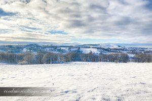 Snowy Views of Ceredigion, Carmarthenshire