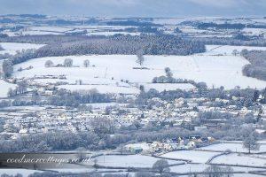 Lampeter snow scene