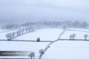 Ceredigion snow storm